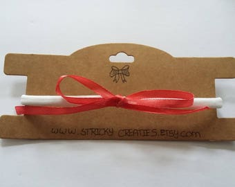 Nylon hair Band with satin bow for girls from 0 to 10 years
