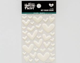 Illustrated Faith - Hey Sugar Sugar - Heart Stickers