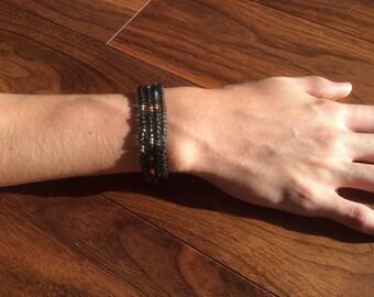 Japanese seed bead man bracelets