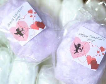 30 Packages of Cotton Candy with Labels