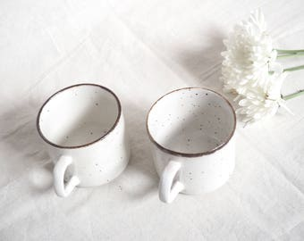 Vintage coffee cups J&G Meakin Lifestyle England (2 pieces) set of 2 Cups