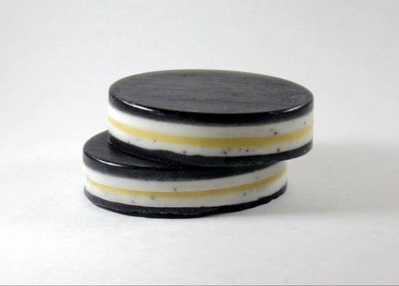 Mint & Lemon Poppy Seed Soap