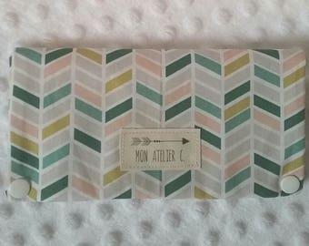 Pocket barrettes and elastics in cotton