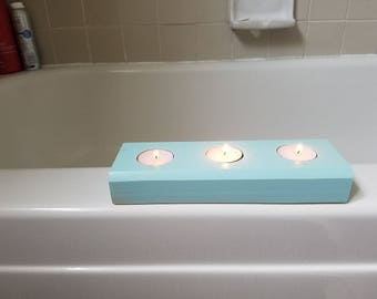 Tea Light Holders for a relaxing bath.