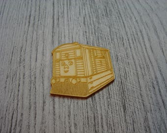 Wagon 1531 embellishment wooden creations