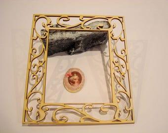 Photo frame wooden Littles 1996 embellishment