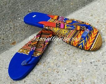 Ankara Flip Flops