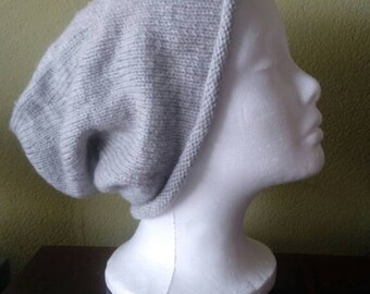Soft light grey Hat