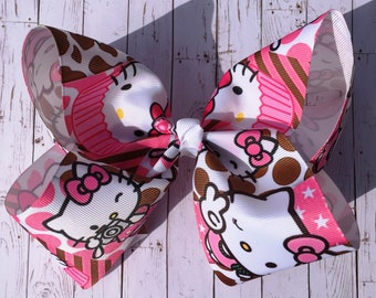 Hello Kitty - Large JoJo Style Hair Bow