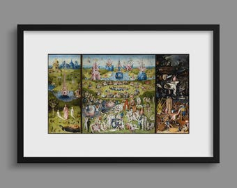 The Garden of Earthly Delights (Triptych) - Hieronymus Bosch