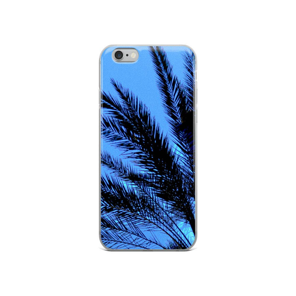 palm tree leaves phone case for iphone 5 5s se 6 6s 6 6s plus