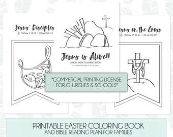 Easter Bible Bingo Religious Easter