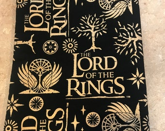 Lord of the Rings book sleeve