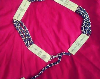 Vintage Chanel Rue Cambon Belt Necklace