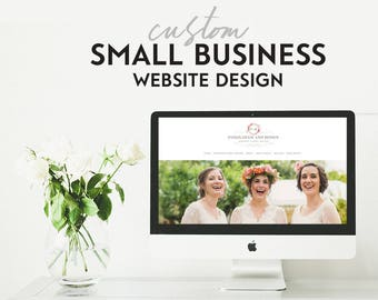 Custom Website Design - Small Business - Custom Responsive Wordpress Website Design - Small Business Website Design