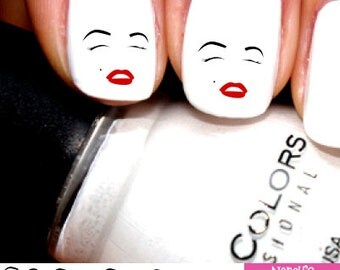 Marilyn Monroe Nail Decals