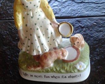 Vintage Holly hobby figurine