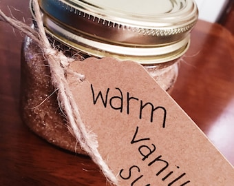Warm Vanilla Sugar Scrub