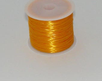 3 m elastic yellow 0.8 mm thick