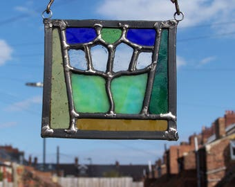 Handmade Stained Glass Suncatcher