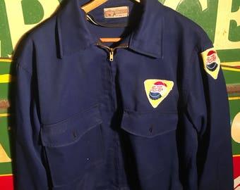 1950s Pepsi Cola Uniform Jacket Large