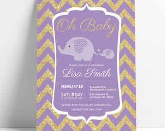 DIGITAL Baby Shower Invite