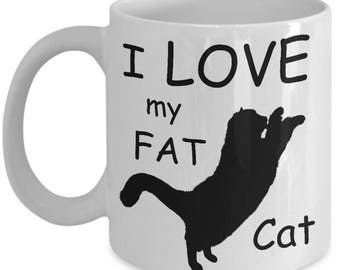 Fat Cat Mug: Cat Whiskers Cup