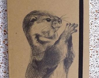 Otter Design notebook/sketchbook