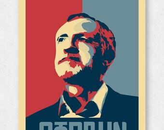 Jeremy Corbyn Hope Poster