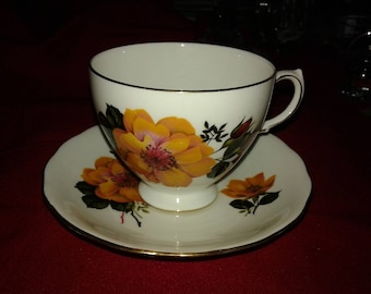 Lovely Royal Vale teacup and saucer
