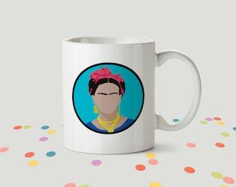 Frida Kahlo Ceramic Mug