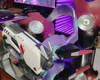 Fan Made LED D.va Cosplay Kit! (Available in any Color!)