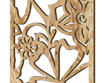 Decorative plywood wall panels