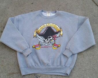 Vintage Disney Pirates of the Caribbean sweater