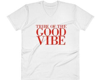 Tribe Of The Good Vibe V-Neck T-Shirt