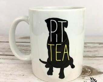 JANUARY SPECIAL - Pitbull Mug - Pittie - Pitbull - Offer - Tea - Dog Mom - Dog lovers - Pit Bull Art - Gift for Her - Tea Lover Gift