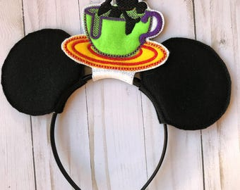 Mickey Mouse Teacup Inspired Ears