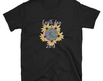 earth day shirt, earth day, mother earth shirt, earth shirt, earth day tee, mother earth, earth day 2018, nature shirt, sunflower shirt