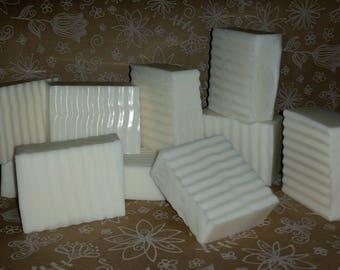 Goat's Milk Soap, SCENTED, 3 LB Loaf Of Soap, Pick your Scent, Cut (10 Slices) Or Uncut Loaf,