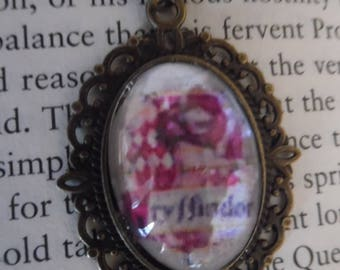 Gryffindor Harry Potter Cabochon Necklace