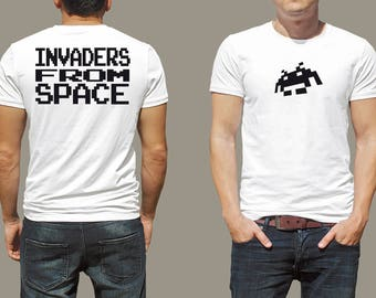 The Space Invader tee