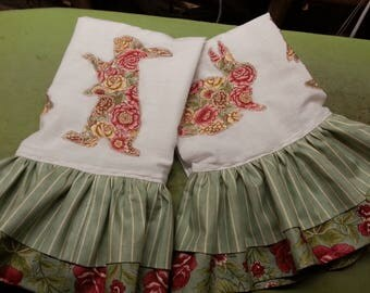 Bunnies Kitchen Towel Set (2)
