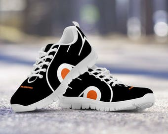 Philadelphia Flyers Fan Custom Running Shoes/Sneakers/Trainers - Ladies + Mens Sizes fan, collector, gift
