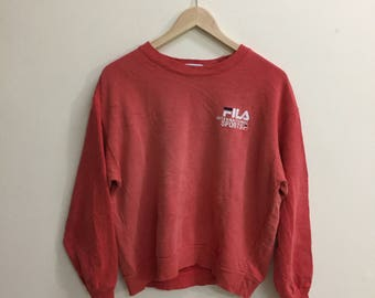 Vintage!! Authentic Fila International Sport Sweatshirt