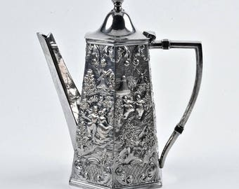 Spectacular Silver Coffee Pot