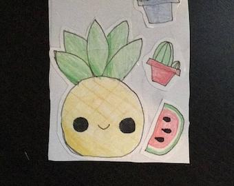 RCM sticker summer pack