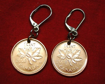 2008 earrings made with real under Canadians from 2008