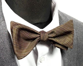 "Bow tie, silk kimono Japanese ""Akihito"" / ""Akihito"" japanese kimono silk Bow Tie"