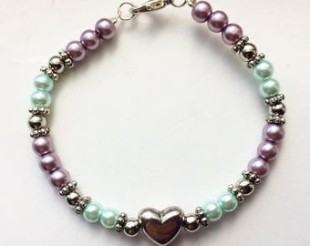 Baby/Toddlers Heart Bracelet
