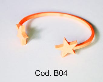 Stars bracelet 3d printed   / Braccialetto Stelle Stampa 3d